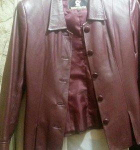 Кожанная куртка