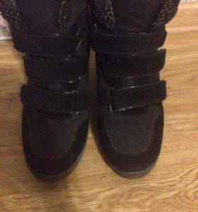 Ботинки зимние, кеддо