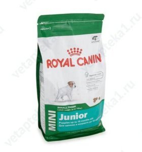 Royal Canin mini junior 4 кг.