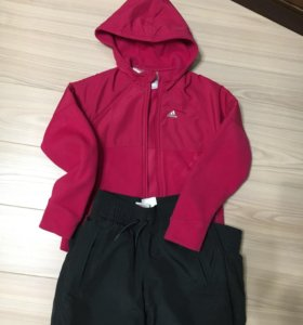 Спортивный костюм на девочку(140)adidas утепленный