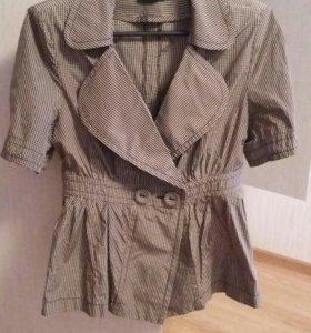 Легкий пиджак с баской