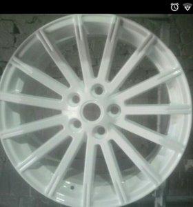 ПОРОШКОВАЯ (полимерная) окраска дисков