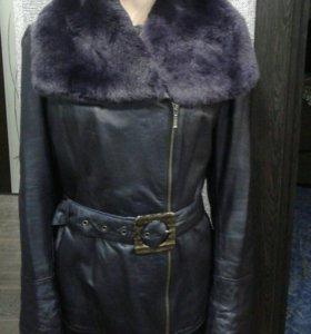 Кожаная куртка Мондиаль