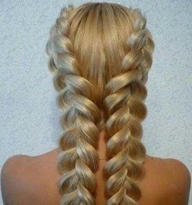 Укладка волос, прически , окраска волос.