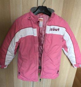Куртка зимняя детская 8-9 лет