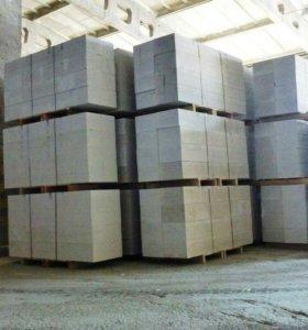 Газобетонные блоки, заводской пропаренный.