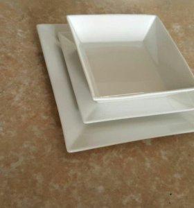 Набор тарелок 3 предмета