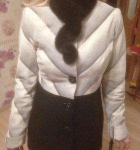 Замшевая куртка, новая