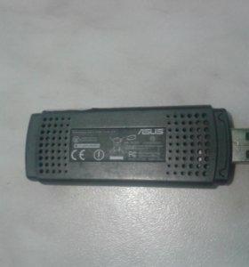 Беспроводной сетевой адаптер asus wl-169ge, Б/У