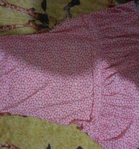 Накидка-платье на купальник