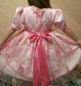 Шикарное платье 122-134