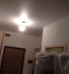 Натяжные потолки своим