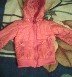 Куртка весенняя 3-4 года