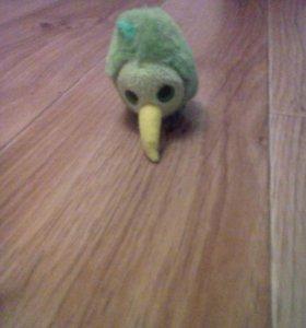 Птица плюшевая
