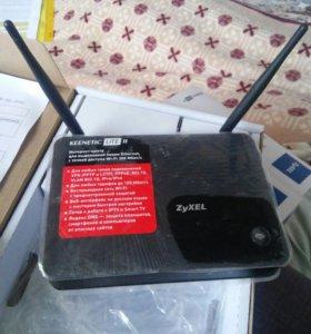 Wi-fi роутер Zyxel keenetic Lite ll