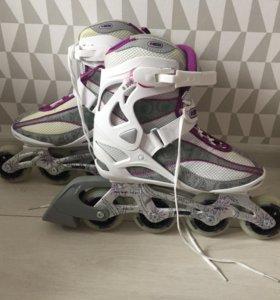 Новые женские роликовые коньки Re:Action R206, 38р