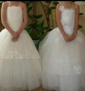 Платья детские нарядные