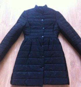Новая!Куртка пальто куховик с бантом сзади р.42-44