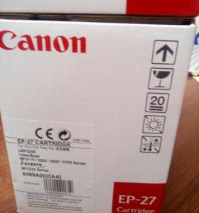 Картридж Canon EP 27