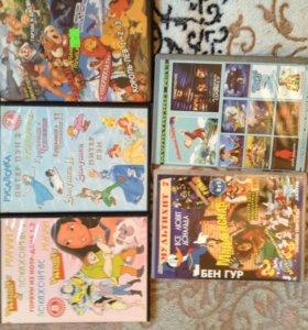 DVD диски новые!