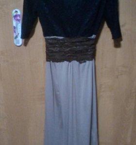 платье длинное,туника, платье