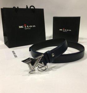 Кожаный ремень Kiton