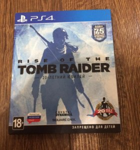 Игра PS4, Rise of the Tomb Raider