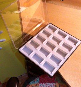 Коробки для коллекционирования.насекомых