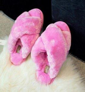 "Тапочки ""Розовый мех"""