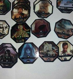 Ксрточки Звёздные воины