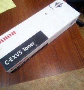 Оригинальный тонер C-EXV 5