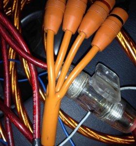 Провода на сабвуфер в отличном состоянии