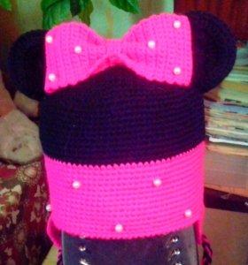 Детская шапочка Минни Маус