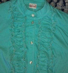 Блуза мятного цвета