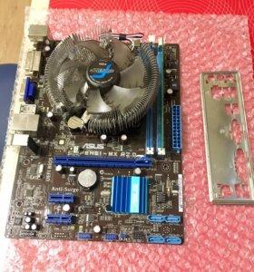 Мат. плата Asus p8h61 mx + Intel core i5 2400
