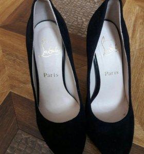 новые туфли замш размер 37.5 38