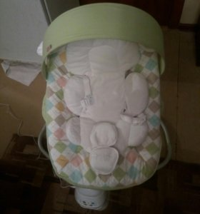 детские электронные качели happy baby