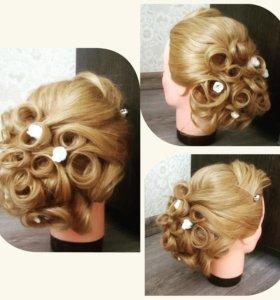 Плетение кос и прически