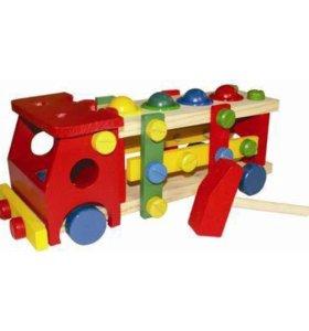 Конструктор машина с шариками