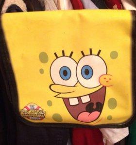 Спанч боб сумка для детей