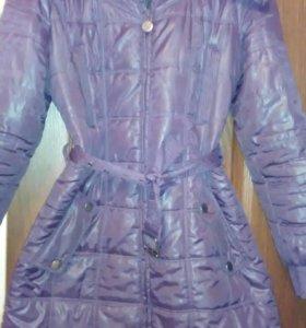 Пальто весна осень,можно до - 5,на теплую зиму