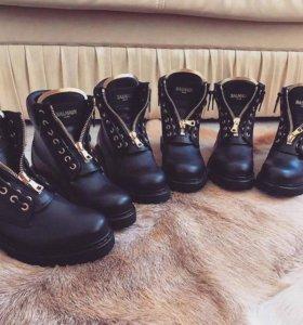 Ботинки Balmain🖤
