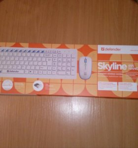 Беспроводная мышка с клавиатурой.