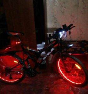 Велосипед Стелс-челенжер,24 скорости