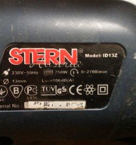 Продам дрель Stern ID 13Z