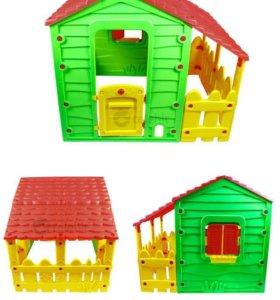 Домик игровой садовый