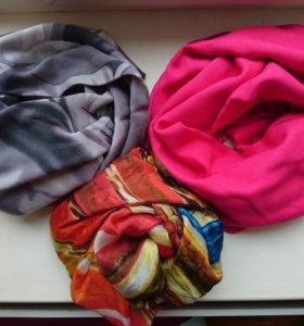 Шарф, палантин (Elis), шелковый шарф
