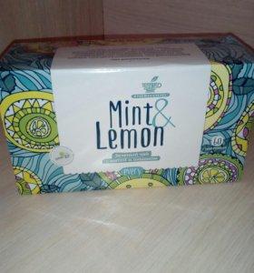 Чай мята- лимон