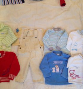 Вещи  для малыша 5-8 месяцев.
