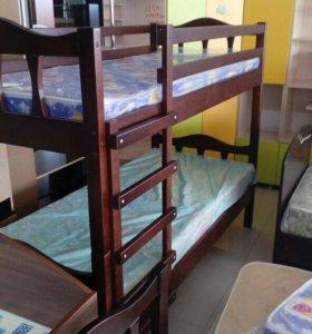 Двухъярусная кровать(новая)